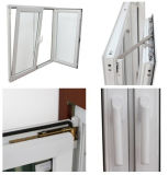 이중 유리로 끼워진 PVC/UPVC Casement와 Tilt Glass Window