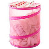白いColor Net現れClothing Bucket
