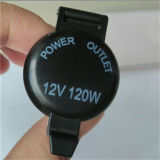 12V 120W Motorcycle Power Socket Cigarette Lighter