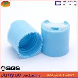 24/410 tampão cosmético de superfície liso ou geado da parte superior do disco, tampa plástica, tampão de frasco