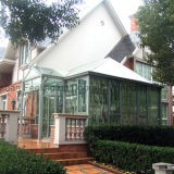 Aluminio sala de Sun con el color blanco del tragaluz del techo inclinado Diseño (FT-S)