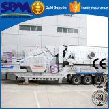 新製品の販売のための移動式砕石機のプラント