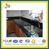 KitchenまたはBathroomのための卸し売りNatural Stone Black Galaxy Laminate Granite Countertops