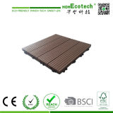 Самое лучшее надувательство! 300X300mm 400X400mm WPC Wood Plastic Composite Decking/Flooring Decking Tiles WPC Tiles