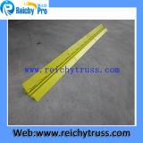 Rampa di gomma del cavo di colore giallo delle 2 Manica