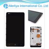 De nieuwe LCD Assemblage van de Becijferaar van het Scherm van de Aanraking van de Vertoning voor Lumia 900