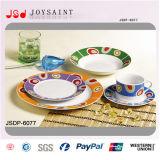 jeu de dîner de forme ronde de la porcelaine 18PCS