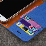 Lederne Wallet Fall Card Identifikation Holder für iPhone 6 Plus