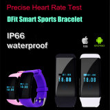 Monitor de frecuencia bluetooth impermeable inteligente del corazón