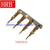 Conector femenino de Molex de la sola fila del alambre a atar con alambre