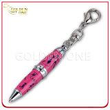 Penna stampata promozionale del regalo di torsione con il cristallo lucido