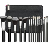 Professional Luxe 15PCS Cosmetic Brushes (ST1502)