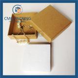 Caja de embalaje de Kraft del regalo barato del papel para el collar (CMG-PJB-125)