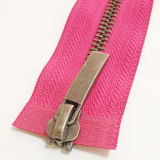 # zwei Ways Open Ende Metal Zipper für Garments