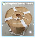 Type circulaire sacs enormes de FIBC tissés par pp avec la courroie ronde