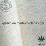 Ткань пеньки/шерстей в шевронной картине (QF13-0144)