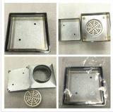 Basura de cobre amarillo de la máquina de las mercancías del cuarto de baño del cuadrado sanitario del tocador (901.07.12)