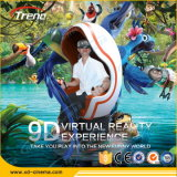 Динамическое Virtual Reality 9d Egg Chair Cinema для парка атракционов