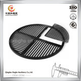ISO 9001はグリルの火格子の砂型で作る製造者OEMの鋳鉄の火格子にアイロンをかける