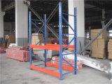 Crémaillère lourde de stockage en rayons d'entrepôt d'étagère en métal