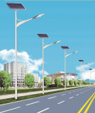 4m 30W LED Solarstraßenlaternemit Soncap Coc Cer