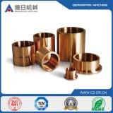 Bâti de cuivre précis en métal d'embout