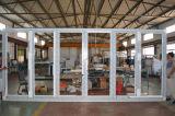 Дверь складчатости K07011 профиля термально пролома высокого качества алюминиевая