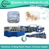 세륨 (YNK400-HSV)를 가진 반 자동 귀환 제어 장치 통제 아기 패드 생산 라인