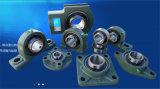 Rodamiento montado del bloque de almohadilla Ucp208-24 con el bloqueo de la cubierta P208 y del tornillo de presión