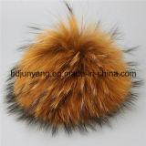 Bal van het Bont van de Wasbeer van de hoogste Kwaliteit de Populaire Echte voor Decoratie
