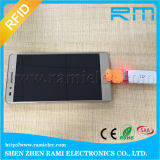 trabajo androide del sistema del soporte del programa de lectura de la tarjeta inteligente de 125kHz RFID con el móvil
