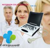 Блок развертки Ew-C8 ультразвука Doppler цвета компьтер-книжки диагностический с выпуклым зондом C3r50 для людской пользы