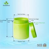 recipientes cosméticos do animal de estimação 250ml plástico para o Brilliantine
