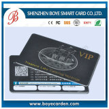 Cheap Free Samples Promotion Plastic Membership Cards com código de barras