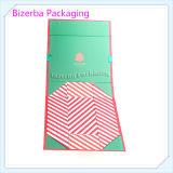 Коробка рубашки картона нестандартной конструкции бумажная складывая