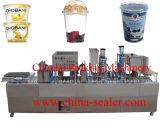 Máquina de relleno del lacre del yogur de la taza automática de /Milk