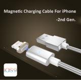 Câble de caractéristiques magnétique de la foudre USB et câble de remplissage pour iPhone5/6/6s