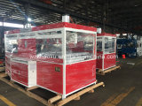 機械を形作る熱い普及したプラスチックスーツの箱の荷物