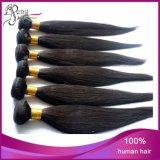 extensões de seda não processadas do cabelo de Stright do cabelo humano do Virgin 7A