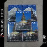 Andenken-Spielkarten mit Abbildung 52 von Nepal
