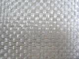 Couvre-tapis combiné piqué par fibre discontinue tissé par fibre de verre