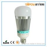 Lampadine ripide dell'indicatore luminoso LED della sfera di alluminio dell'interno della lampadina LED dell'indicatore luminoso di lampadina del LED