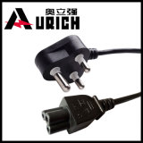 Indische AC Power Cord met 3 Pin Plug 6A, 10A India Power Cables