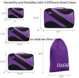 4 устроителя упаковки багажа перемещения кубика упаковки PCS с плановиками мешка прачечного