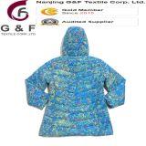 Втулки Hoody высокого качества куртка цветастой длинней Nylon выстегивая