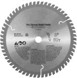 16 dentro. O metal não-ferroso de 100 dentes que corta a circular viu a lâmina para o alumínio