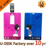 mémoire Flash USB3.0 par la carte de crédit du logo 8-128GB graphique fait sur commande (YT-3101-3.0)