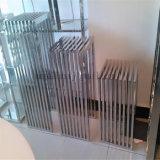 Le Flowerpot fait sur commande de fabrication d'acier inoxydable de décoration d'hôtel enterre le type d'étage de présentoirs