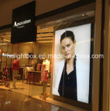 Shopping Mall Customized Frameless Tension Fabric Light Boxのための愛Photo Frame