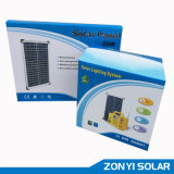 20W Solar DC Light System+MP3/Radio+Fan+4PCS Solar Light (ZY-103R)